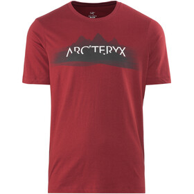 Arc'teryx Remote SS T-Shirt Men Red Beach
